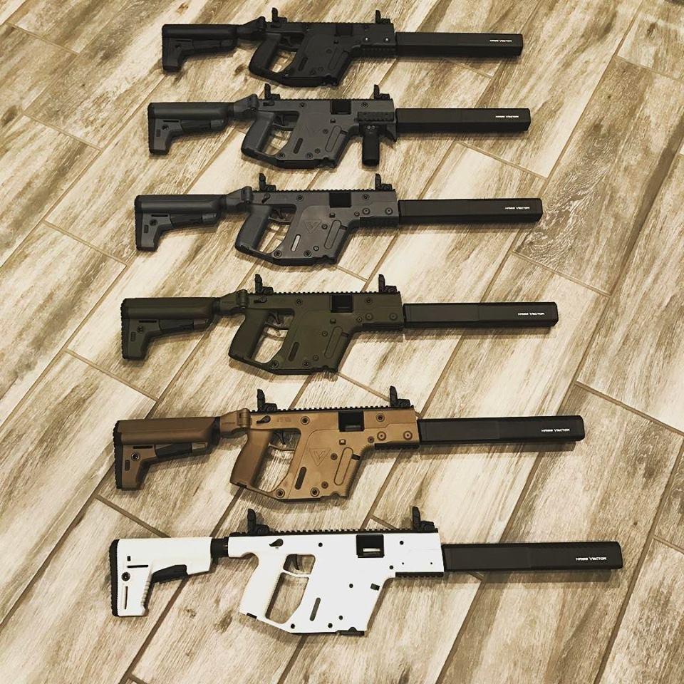 Kriss Vector (CRB) - Various models - JT Custom Guns & Collectibles