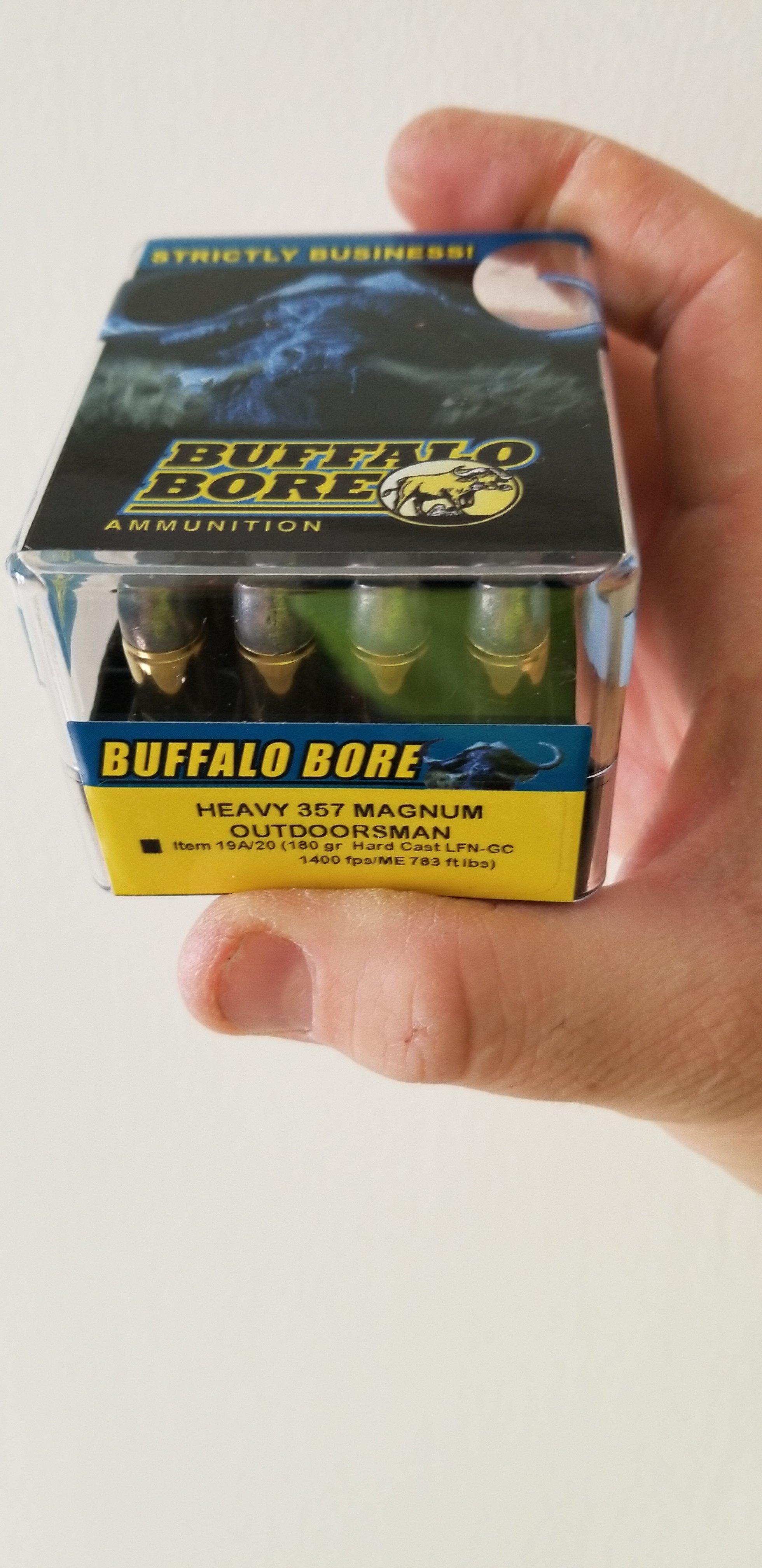 Buffalo Bore - Ammunition & Reloading - New Jersey Gun Forums