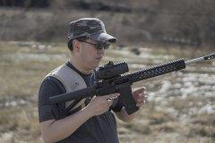 Custom AR-15 w/ Sightmark Wolfhound 6x Prismatic