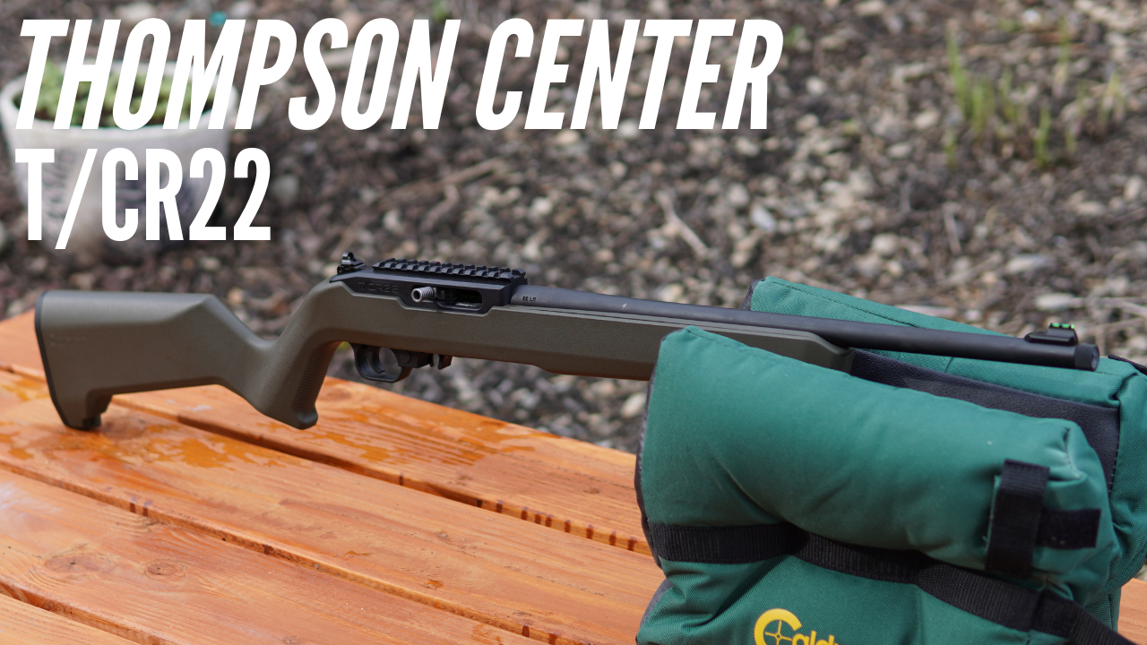 Thompson Center TCR-22 - Ruger 10/22 Copy? Video Premier 3PM, giveaway