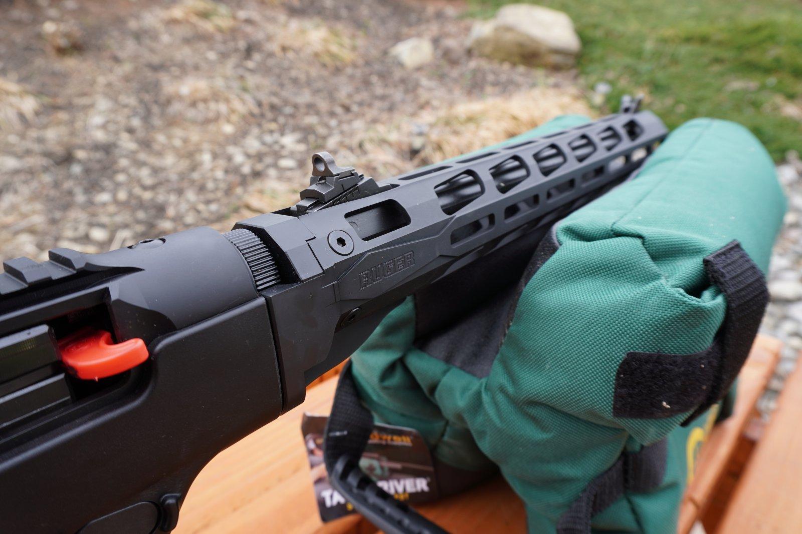 Ruger PC Carbine 9mm Mlock Rail