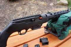 Ruger PC Carbine 9mm Mlock Rail
