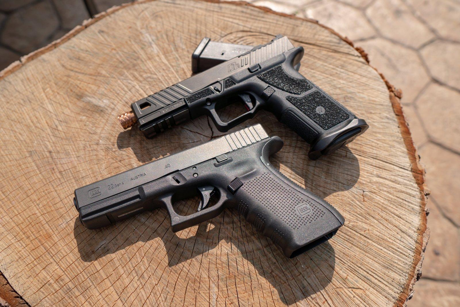 Zev OZ9 & Glock 22 Gen 4